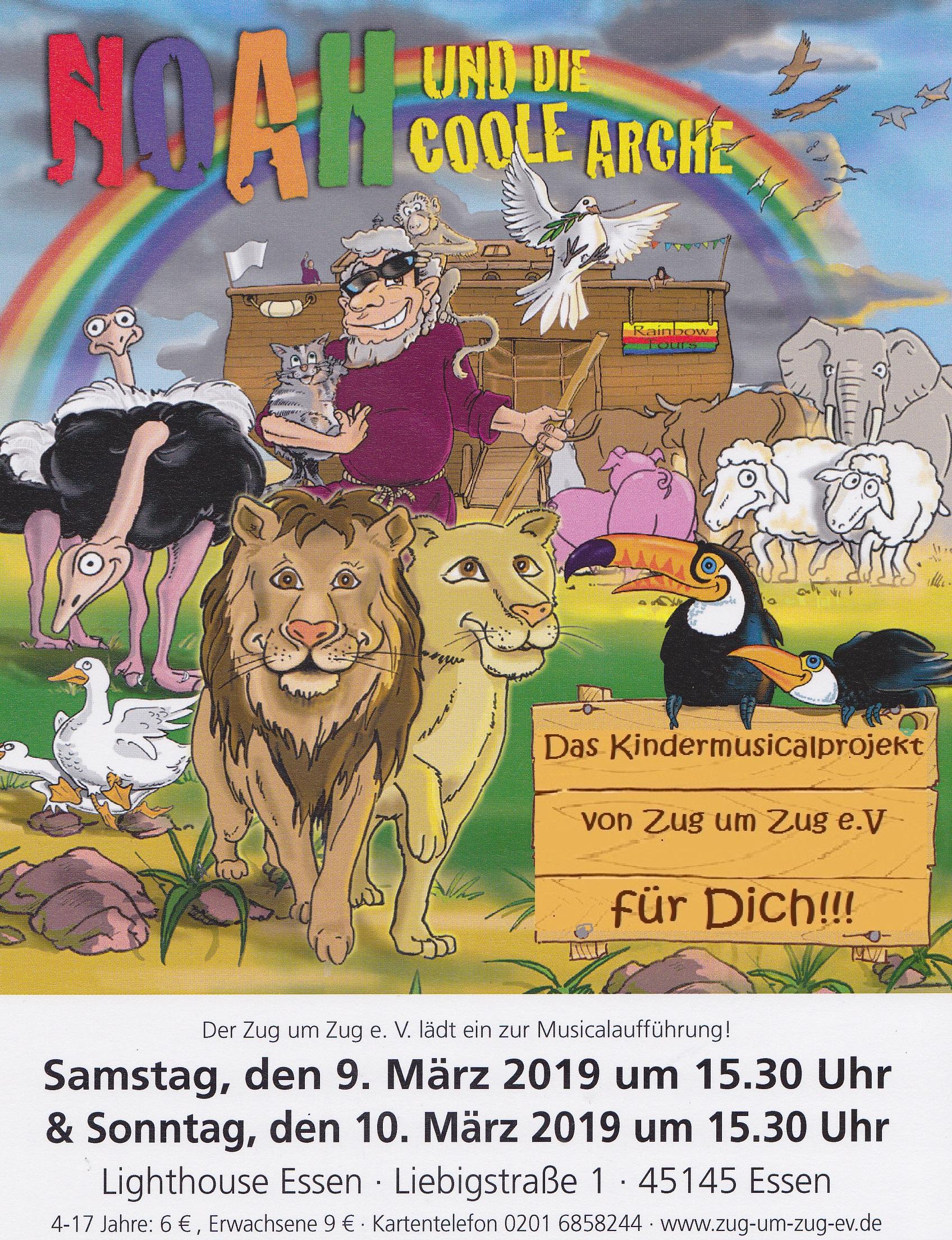 Kindermusical Noah Die Coole Arche Konferenzkirche Konzerthaus